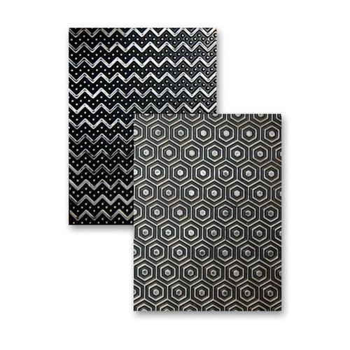 Spellbinders - M-Bossabilities Collection - Embossing Folders - So Trendy
