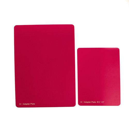 Spellbinders - Raspberry Spacer Plate - 8.5 x 6