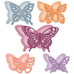 Spellbinders - Donna Salazar - Grand Shapeabilities Collection - Die Cutting and Embossing Templates - Wonderful Wings