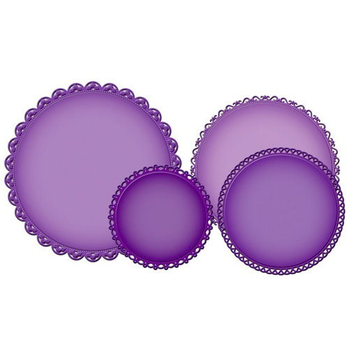 Spellbinders - Grand Nestabilities Collection - Decorative Elements - Grand Decorative Circles One