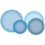 Spellbinders - Grand Nestabilities Collection - Die Cutting and Embossing Templates - Grand Stately Circles