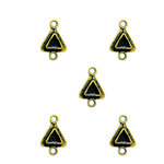 Spellbinders - Media Mixage Collection - Bezels - Triangles Two - Bronze - 5pk
