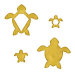 Spellbinders - Media Mixage Collection - Metal Blanks - Turtles