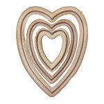 Spellbinders Hearts Two Bezel Die