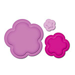 Spellbinders - Presto Punch - Die Cutting and Embossing Template - Flowers