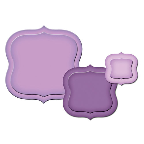 Spellbinders - Presto Punch - Die Cutting and Embossing Template - Labels A
