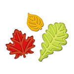 Spellbinders - Presto Punch - Die Cutting and Embossing Template - Fall Leaves