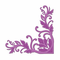 Spellbinders - Shapeabilities Collection - Die Cutting and Embossing Templates - Fantastic Flourish Two