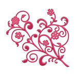 Spellbinders - Shapeabilities Collection -  D-Lites - Die Cutting and Embossing Template - Fantastic Flourish One