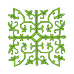 Spellbinders - Shapeabilities Collection -  D-Lites - Die Cutting and Embossing Template - Grate Works
