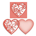 Spellbinders Vines of Passion Shapeabilities Die Cutting Template