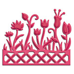 Spellbinders Flower Box Die Cutting Template