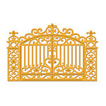 Spellbinders - Shapeabilities Collection - D-Lites - Die Cutting and Embossing Template - Gilded Gate Two