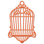 Spellbinders - Shapeabilities Collection - D-Lites - Die Cutting and Embossing Template - Bird Cage Two