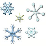 Spellbinders - Poseabilities Collection - Die Cutting and Embossing Templates - Snowflake Wonder, CLEARANCE