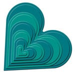 Spellbinders - Nestabilities Collection - Die Cutting and Embossing Templates - Classic Heart, CLEARANCE