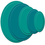 Spellbinders - Nestabilities Collection - Die Cutting and Embossing Templates - Petite Oval - Small