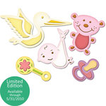 Spellbinders - Shapeabiltities Collection - Die Cutting and Embossing Templates - New Arrival