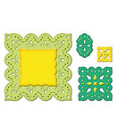 Spellbinders - Shapeabiltities Collection - Die Cutting and Embossing Templates - Fair Isle Pendants