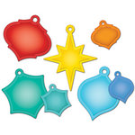 Spellbinders - Shapeabilities Collection - Christmas - Die Cutting and Embossing Templates - Holiday Tags
