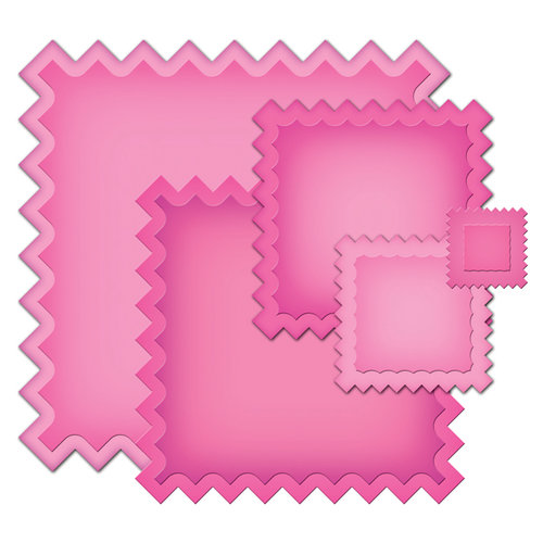 Spellbinders - Nestabilities Collection - Die Cutting and Embossing Templates - Square Swatches