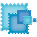 Spellbinders - Nestabilities Collection - Die Cutting and Embossing Templates - Postage Stamp