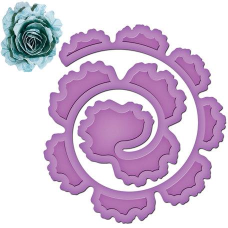 Spellbinders Shapeabilities Spiral Blossom One Die