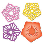 Spellbinders - Shapeabilities Collection - Die Cutting and Embossing Templates - Layered Flowers