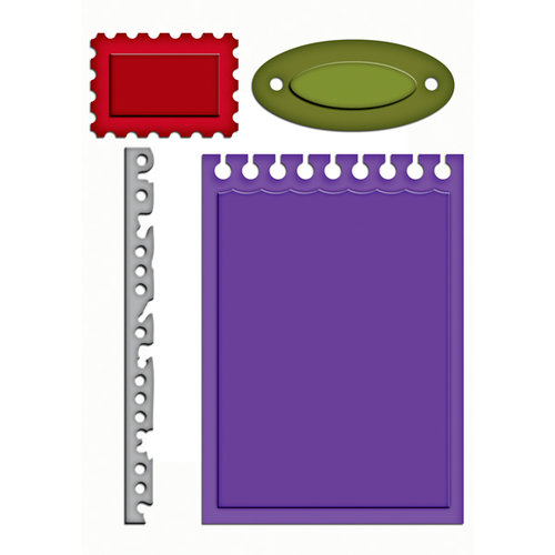 Spellbinders - Shapeabilities Collection - Die Cutting and Embossing Templates - Office Supplies