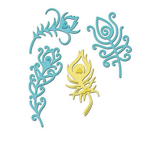 Spellbinders - Shapeabilities Collection - Die Cutting and Embossing Templates - Jewel Fantasies