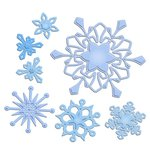 Spellbinders - Shapeabilities Collection - Die Cutting and Embossing Templates - Create-a-Flake Four