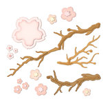 Spellbinders - Shapeabilities Collection - Die Cutting and Embossing Templates - Cherry Blossoms