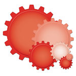 Spellbinders - Nestabilities Collection - Die Cutting and Embossing Templates - Cogs