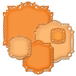 Spellbinders - Nestabilities Collection - Die Cutting and Embossing Templates - Decorative Labels Twenty-Two