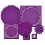 Spellbinders - Nestabilities Collection - Die Cutting and Embossing Templates - Gold Circles One