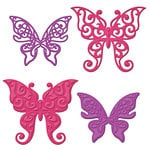Spellbinders Les Papillions Two Shapeabilities Die Cutting and Embossing Template