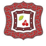 Spellbinders - Frameabilities Collection - Die Cutting and Embossing Templates - Cherry Pickin Frame