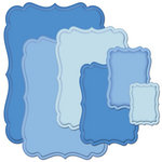 Spellbinders - Nestabilities Collection - Die Cutting and Embossing Templates - Labels Seventeen
