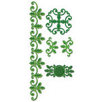 Spellbinders - Shapeabilities Collection - Christmas - Die Cutting and Embossing Templates - Holly Accents