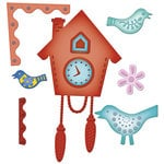 Spellbinders - Shapeabilities Collection - Samantha Walker - Die Cutting and Embossing Templates - Cuckoo Clock