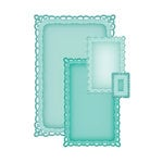 Spellbinders - Nestabilities Collection - Die Cutting and Embossing Templates - Romantic Rectangles