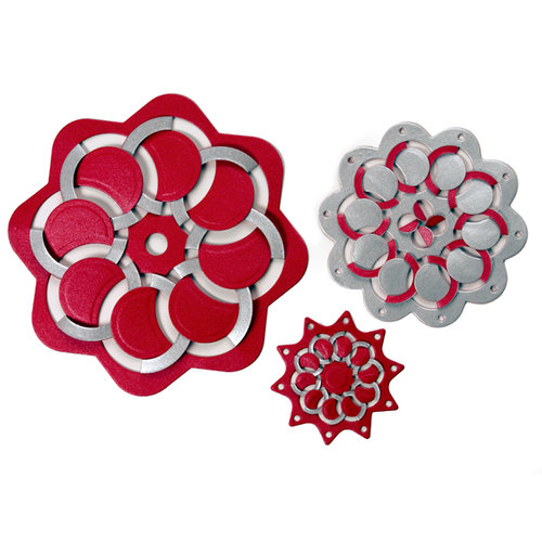 Spellbinders - Cut Fold and Tuck Die Cutting Template - Round About