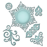 Spellbinders - Shapeabilities Collection - Die Cutting and Embossing Templates - Venetian Motifs