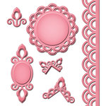 Spellbinders - Shapeabilities Collection - Die Cutting and Embossing Templates - Asian Accents