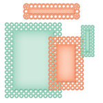Spellbinders - Nestabilities Collection - Die Cutting and Embossing Templates - Card Creator - A2 Polka Dots