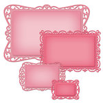 Spellbinders - Nestabilities Collection - Die Cutting and Embossing Templates - Timeless Rectangle