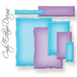 Spellbinders - Nestabilities Collection - Die Cutting and Embossing Templates - A2 Distressed Edges