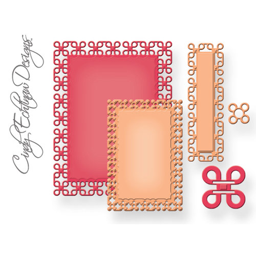 Spellbinders - Nestabilities Collection - Die Cutting and Embossing Templates - A2 Locking Loops