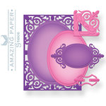 Spellbinders - Nestabilities Collection - Die Cutting and Embossing Templates - A2 Filigree Delight