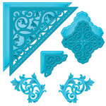 Spellbinders - Shapeabilities Collection - Die Cutting and Embossing Template - Gold Elements One